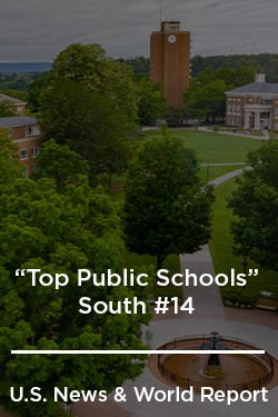 """Top Public Schools"" South #12 - U.S. News & World Report"