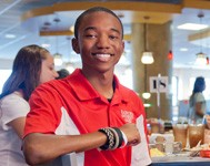 Kirnelius Williams explains why he loves Radford University's School of Communication.