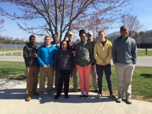 Students tour correctional facility
