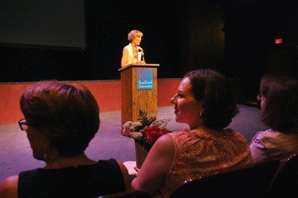 Dean Kate Hawkins opens 2013 CHBS Fall Faculty Convocation