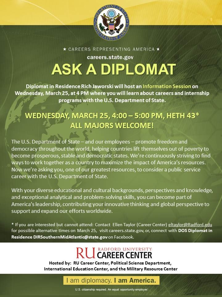 Ask a Diplomat Student Flyer Final