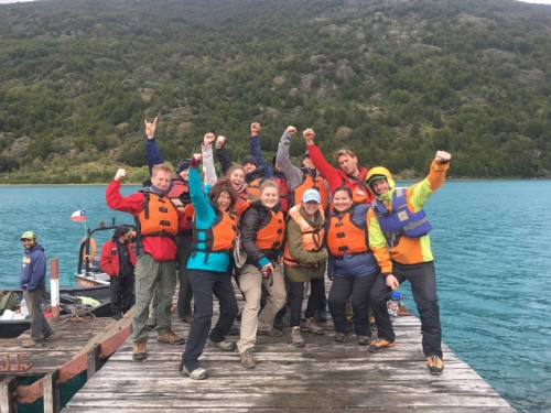 Patagonia field research team