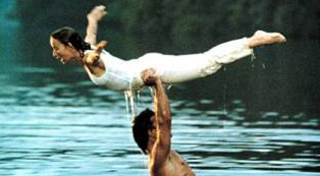 Scene from Dirty Dancing, filmed at Mountain Lake.