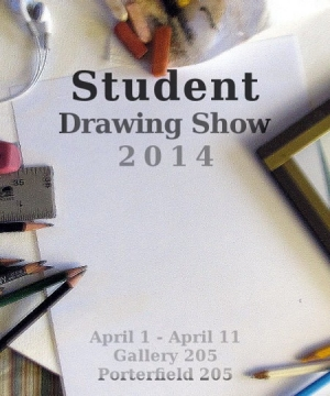 StudentDrawingShow2014poster