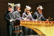 Radford University percussion department performs in Roanoke annually alongside art and dance programs. .