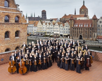 Members of the Polish Baltic Philharmonic Orchestra