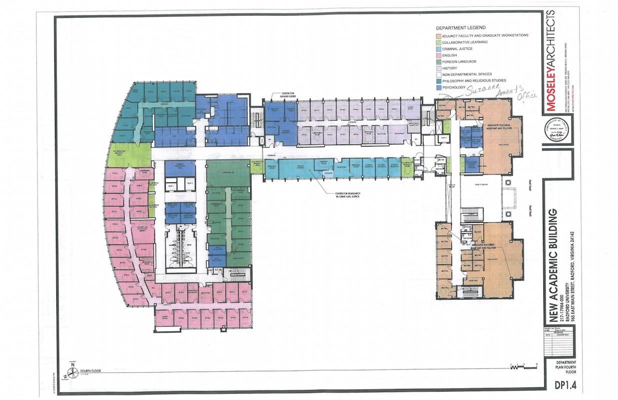 Floor Plans And Renderings New Chbs Building Radford