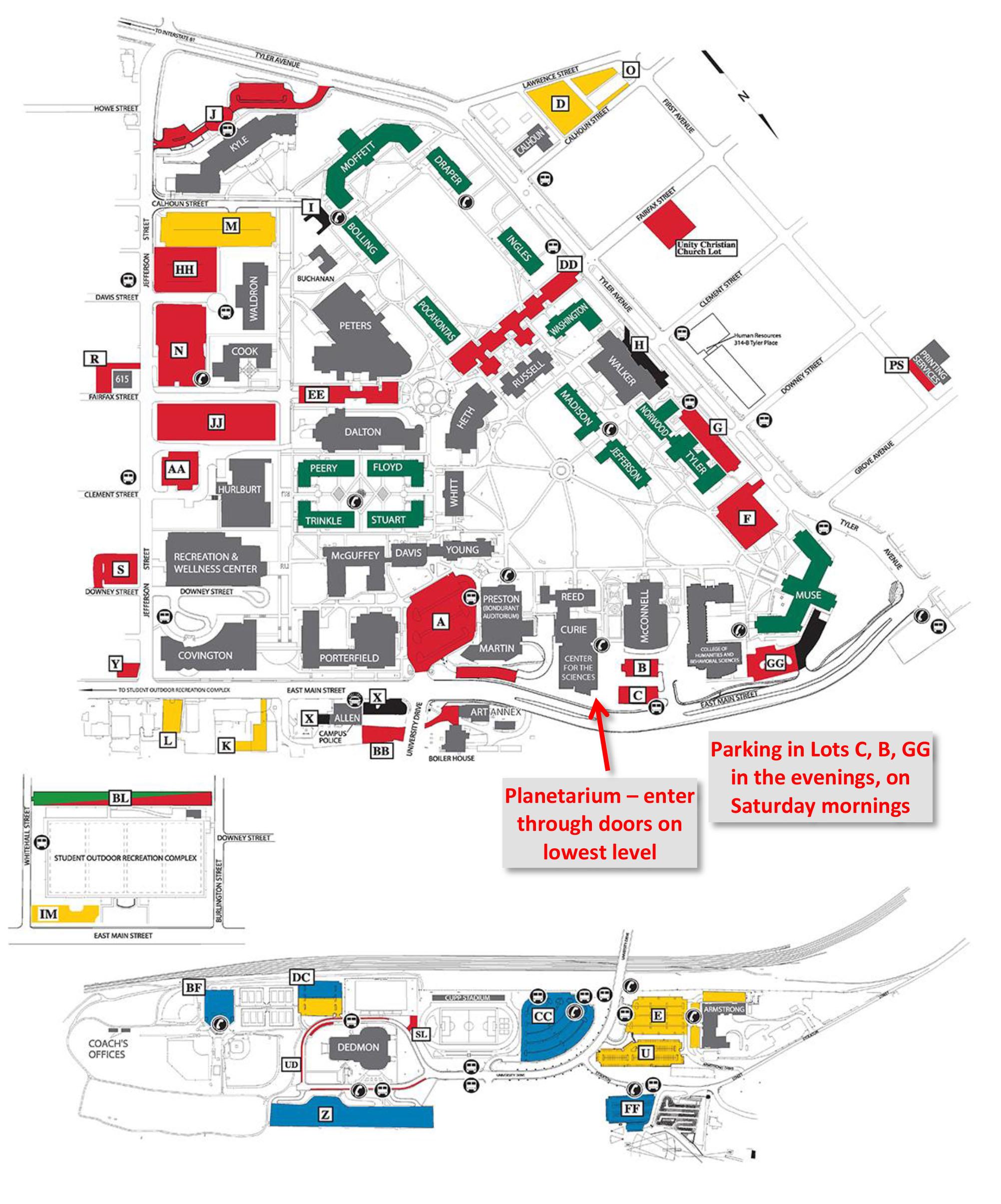 Radford University Map Planetarium | Radford University