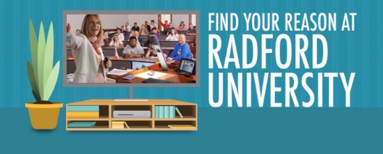 Find your Reason at Radford University