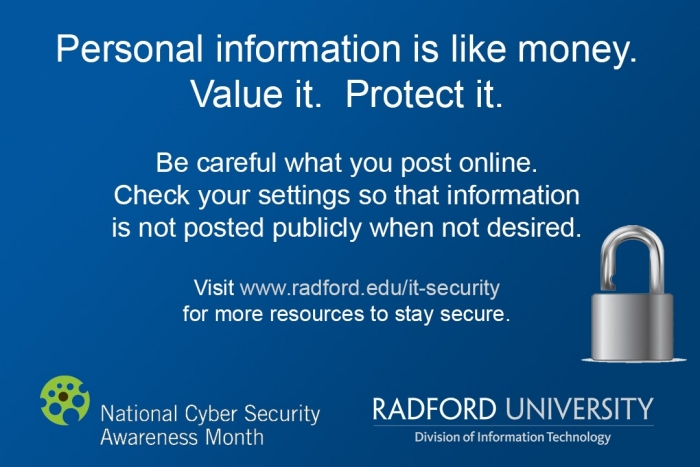 Cybersecurity-Awareness-Personal-Information
