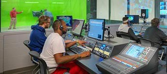 Services related to audio visual, phone, TV or Radio