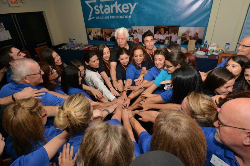 Rodriguez has been the clinical director for the Starkey Hearing Foundation in El Salvador and the Starkey Laboratories' audiology consultant for Latin America since 1997.