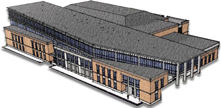 image of proposed fitness center