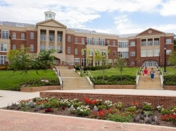 Radford University's Kyle Hall, home of the College of Business and Economics and the MBA program.