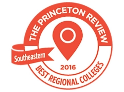 The Princeton Review recognized Radford University as a best regional college