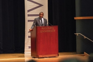 Marc Lamont Hill, professor of media studies and production and media and communication at Temple University