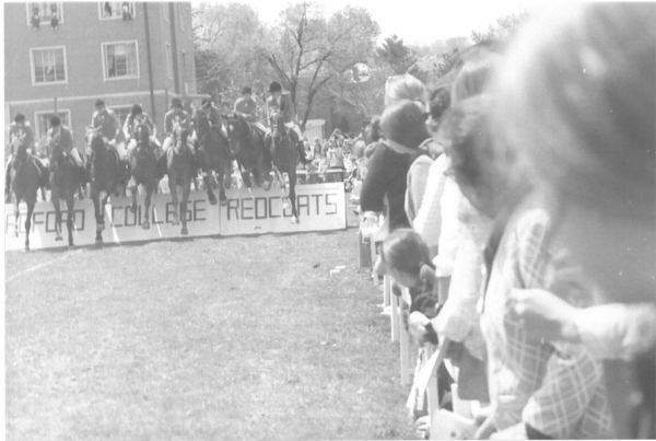Photo gallery of Radford University from 1967-71