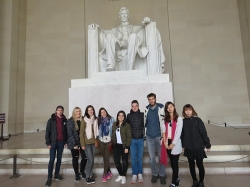 Radford University international students tour Washington, D.C.