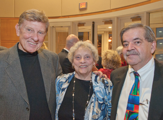 Paul Frets, with wife Jeri, and Gerry McCarthy
