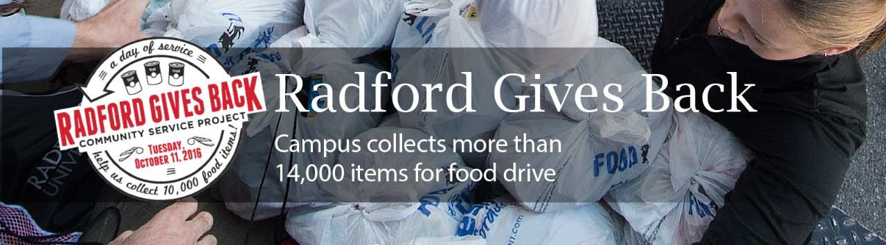 radford-gives-back-campus-collects-more-than-14000-items-for-food-drive
