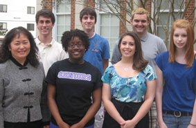 Photo of new Kirk Scholars