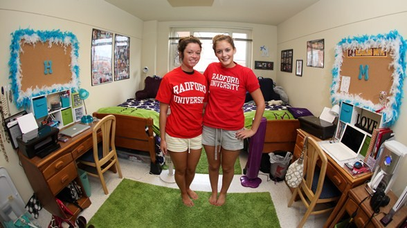 Freshman Roomates In Residence Hall Room Part 36