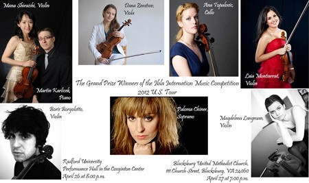 Performers from this year's Ibla concert