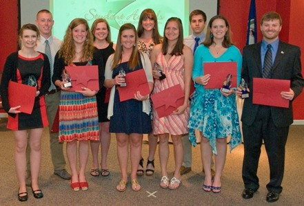 Outstanding Student Award recipients