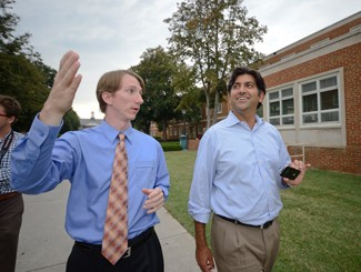 Aneesh Chopra and Daniel Burgess