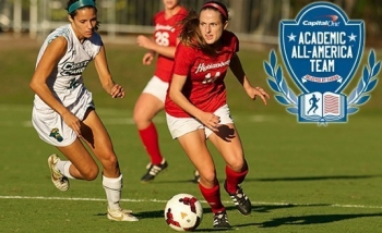 RU's Rachel Conway is RU's 16th Academic All-America honoree