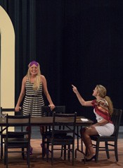 "A scene from ""The Dining Room"" in Pridemore Theatre"