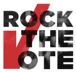 Photo of the Rock the Vote logo