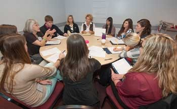 Waldron College students discuss interprofessional care