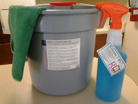 'Green' cleaning supplies