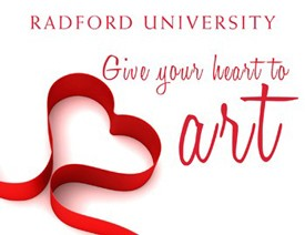 Give your heart to art logo
