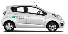 The campus WeCar program is now known as Enterprise CarShare.