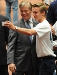 McDonnell with Boys State delegate