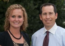 Vanessa Quesenberry '13 and Mike DeFilippo '90