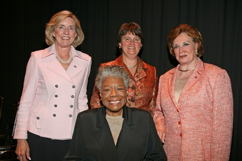 Photo of Kyle, Holton, Sadat, Angelou