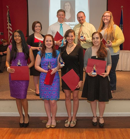 Photo of Outstanding Student Award Winners