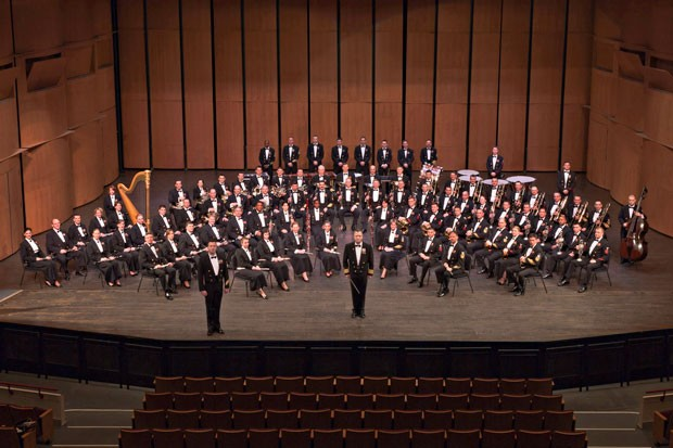 Photo of USN Concert Band