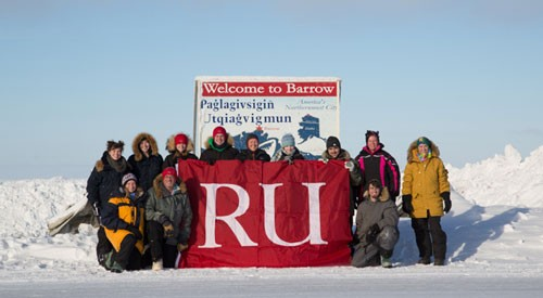 members of the Barrow Alaska research group