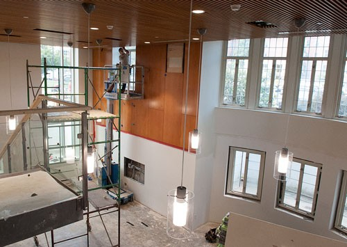 Progress On Campus Construction And Maintenance Projects