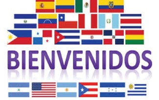 Bienvenidos (flags of hispanic countries