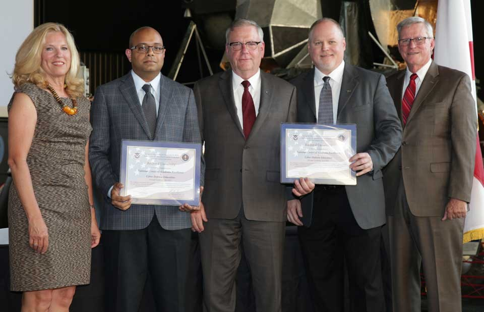 NSA/DHS Certifificate ceremony action