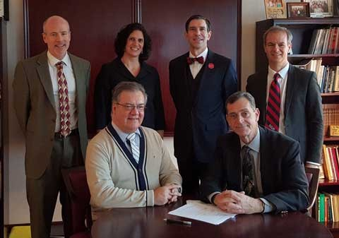 Radford and French business school ink RU's latest international exchange agreement