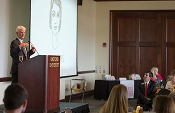 Atlas Society founder David Kelley delivered the keynote address COBE BB&T Global Capitalism Lecture Series Luncheon.