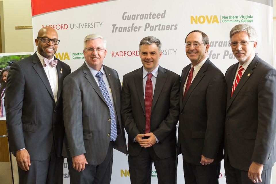 Radford Nova Sign Landmark Agreement Radford University