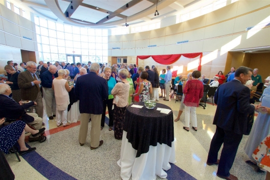 More than 175 friends, family, supporters and alumni attended the event to honor Provost Emeritus Joseph P. Scartelli, Ph.D.