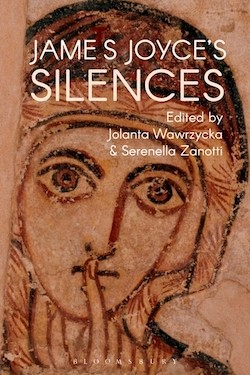 "The cover of Wawrzycka's forthcoming book, ""James Joyce's Silences."""